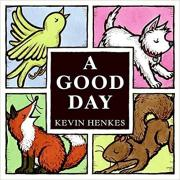 Book cover showing bird, fox, dog, and squirrel