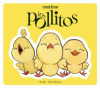 Book cover for Los Pollitos showing three baby chicks