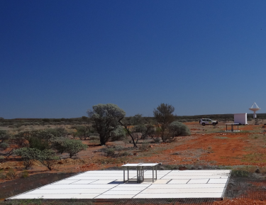 The two EDGES instruments in Western Australia.
