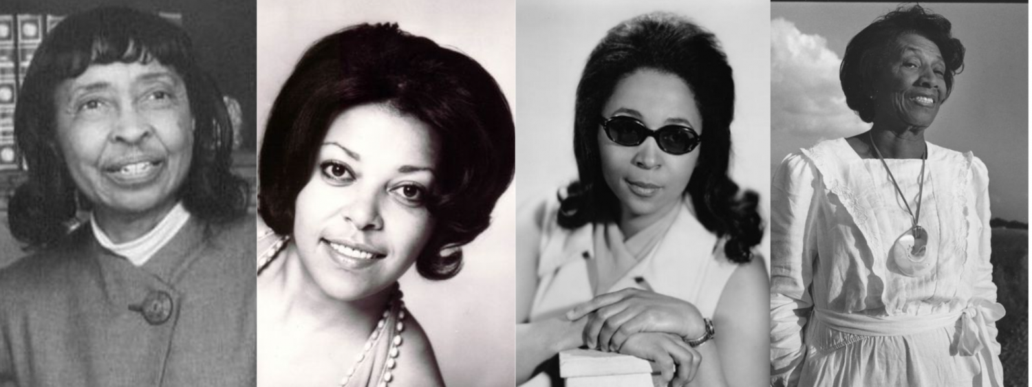 Some of the composers featured in the site: Zenobia Powell Perry, Dorothy Rudd Moore, Valerie Capers and Undine Smith Moore