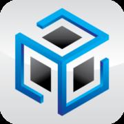 Blue Cubed Logo