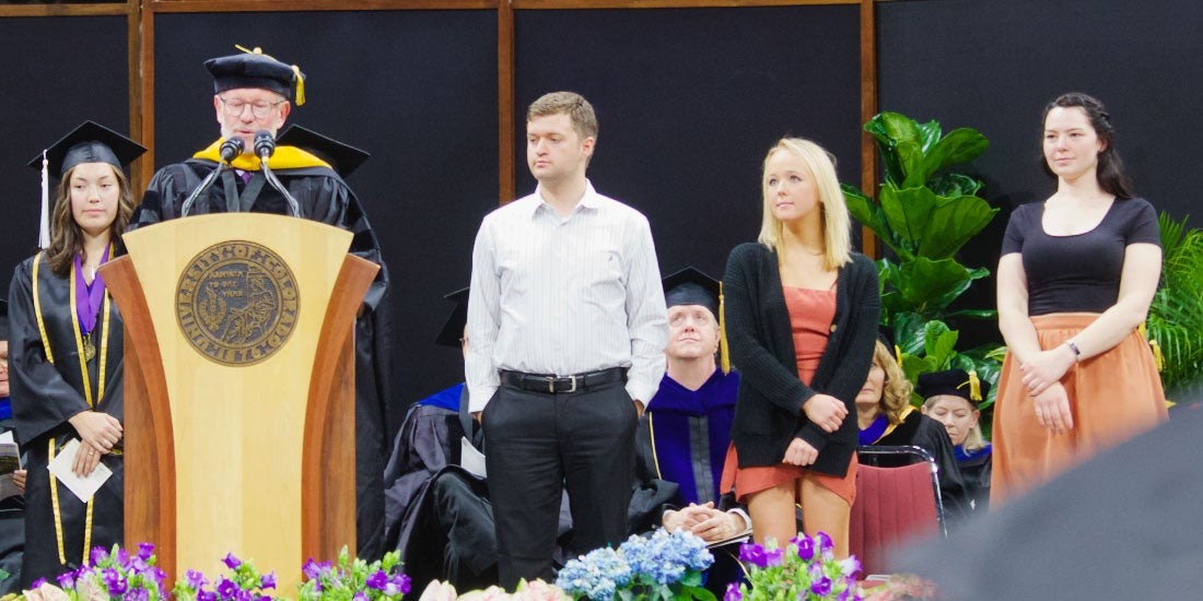Mark Whisman announces undergraduate awards