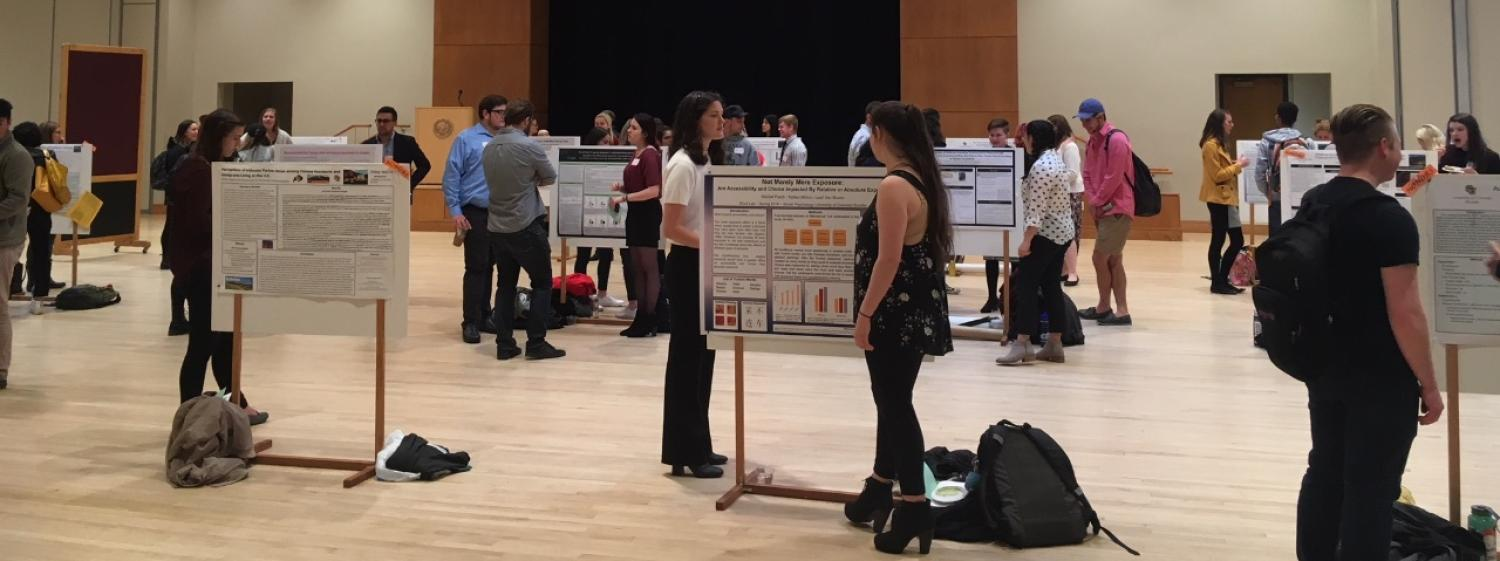 undergraduate research day photo