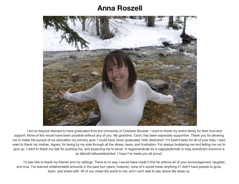 Anna Roszell