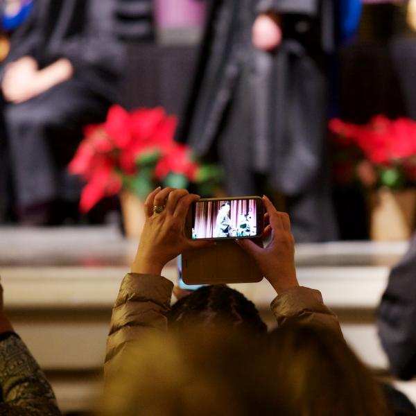 Next time I'll watch the ceremony on someone's cell phone