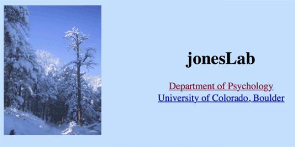 jones lab logo