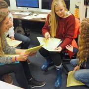 Some LAs discuss teaching strategies