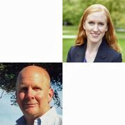 Rachel Thayer and Kent Hutchison