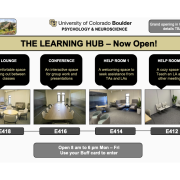 the learning hub poster