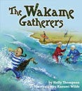 wakame gatherers book cover with kids playing the the river