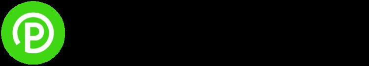 Graphic logo for ParkMobile App