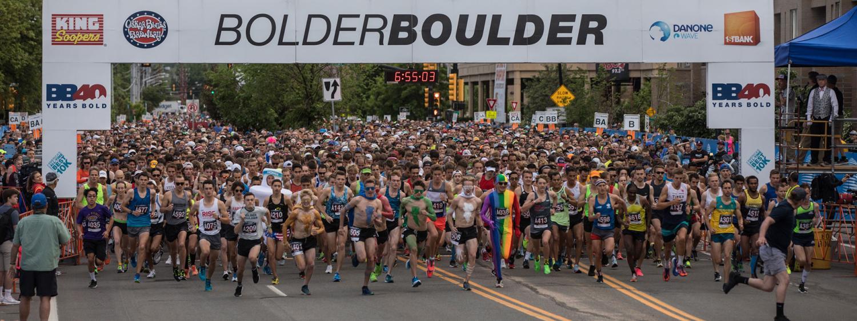 BolderBoulder Startline