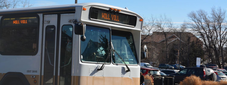 Buff Bus to Williams Village