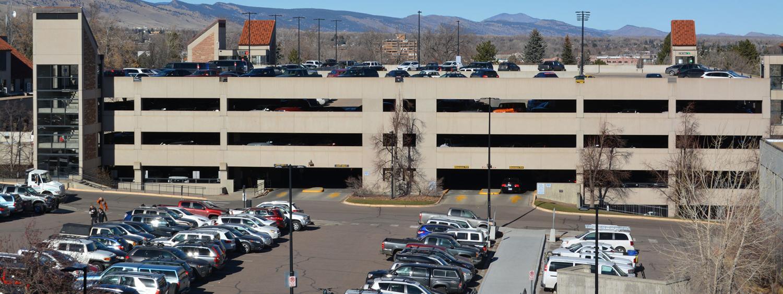 Regent Parking Garage.