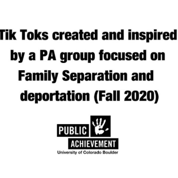 Informational TikToks on Family Separation Video
