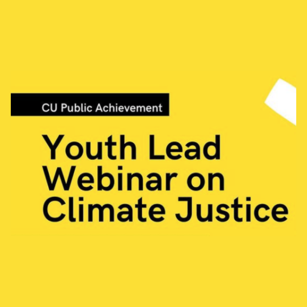 Climate Justice Webinar