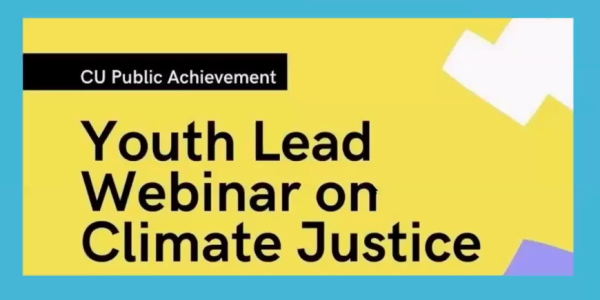 Youth Lead Climate Justice Webinar (Fall 2020) Recording