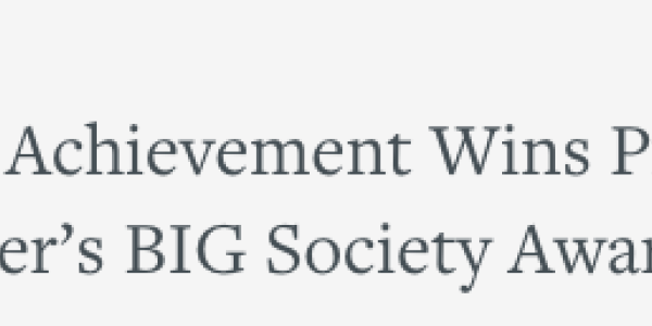 Public Achievement wins Prime Minister's Award in N. Ireland