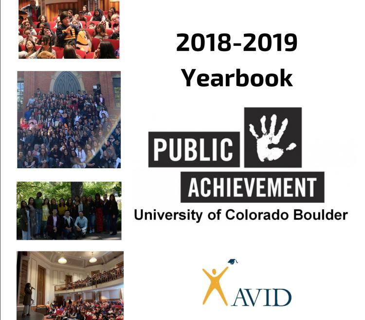 2018-2019 Project Yearbook