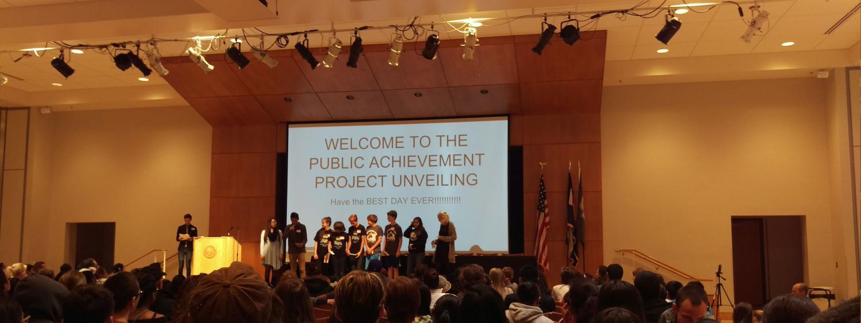 The Public Achievement Annual Unveiling 2016