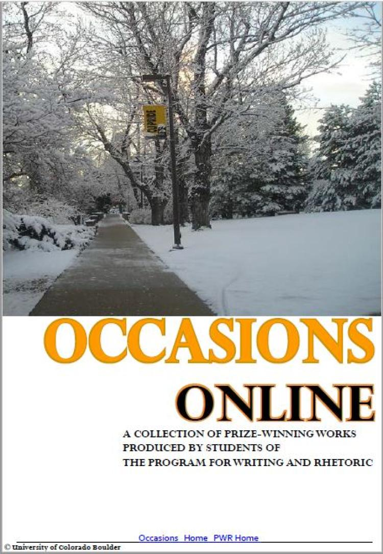 occasion 2018 cover