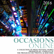 Occasions 2016 cover