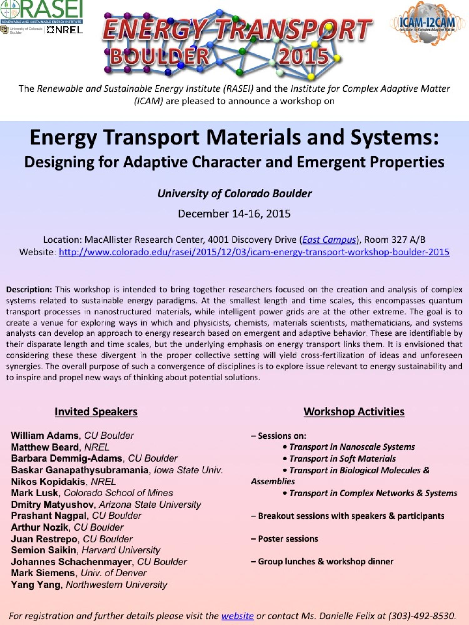 Energy Transport Flyer