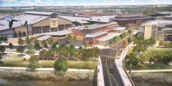 National Western Center, a net-zero campus under construction in Denver