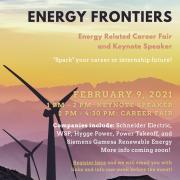 Energy Frontiers 2021 Flyer