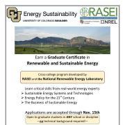 Graduate Certificate Flyer Fall 2015