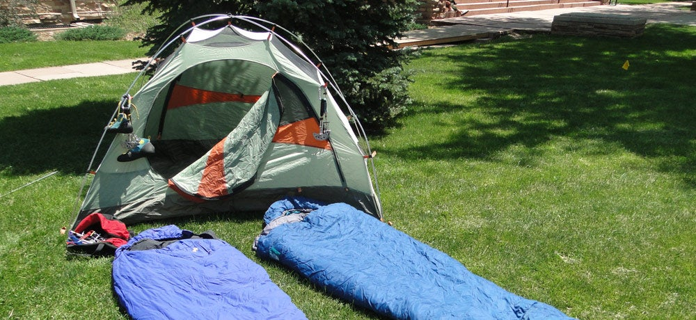Rent tents and gear