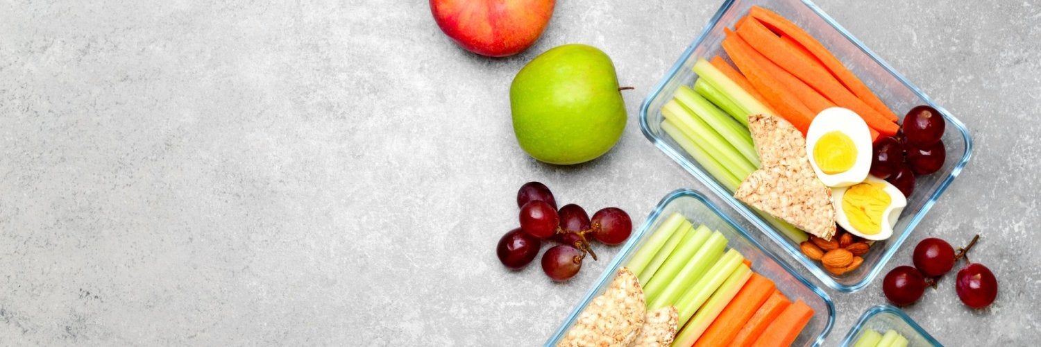 Meal prep containers for lunch