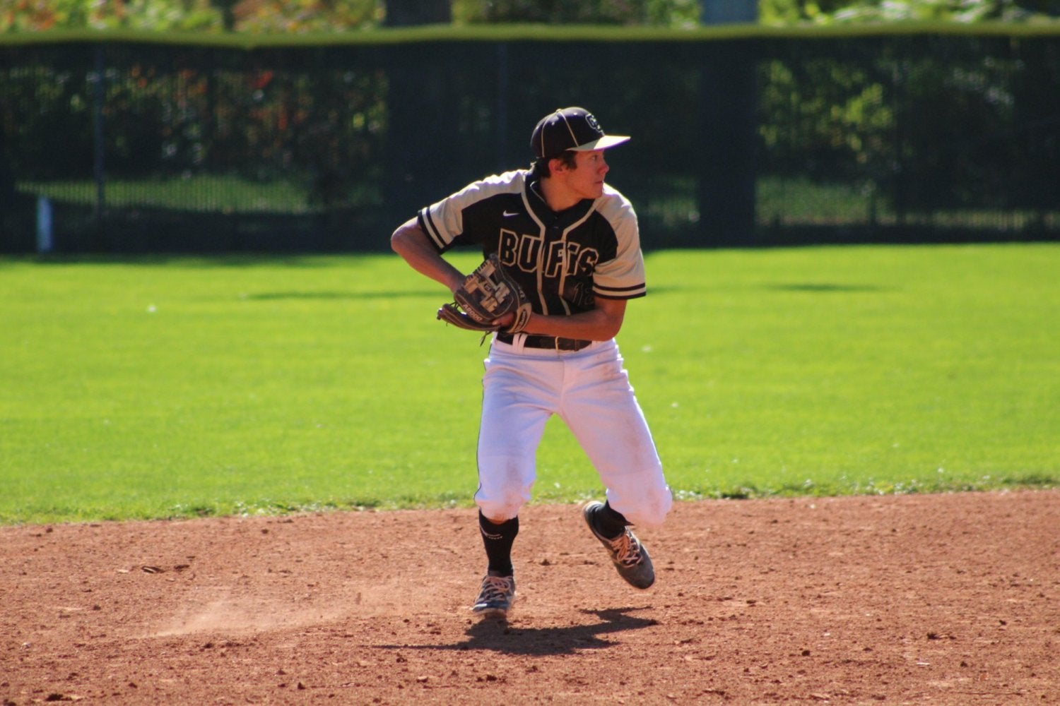 CU baseball player