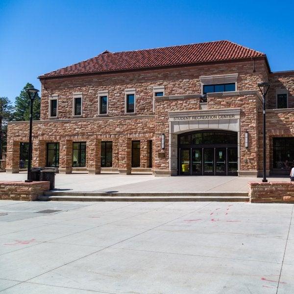 exterior of the rec center