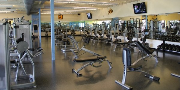 weight and cardio equipment at will vill