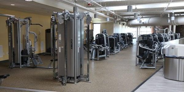 3rd floor fitness area