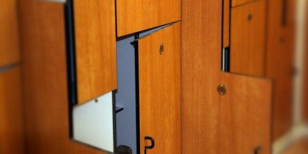 Rec Center lockers