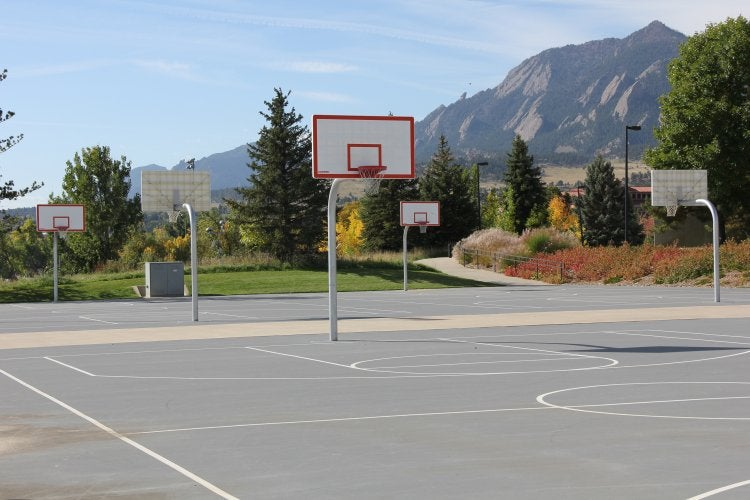 Image result for outdoor basketball court