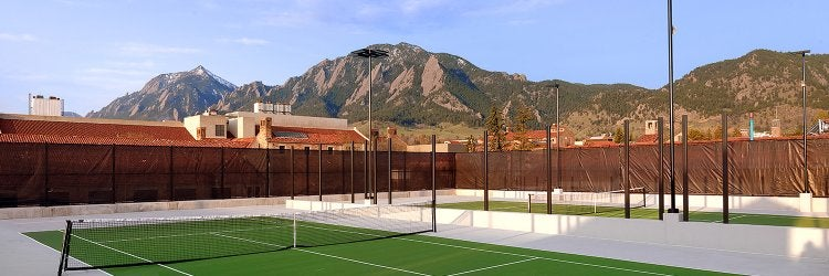 Tennis Courts Recreation Services University Of Colorado Boulder Матчи пройдут на хардовых кортах спортивного комплекса khalifa. tennis courts recreation services
