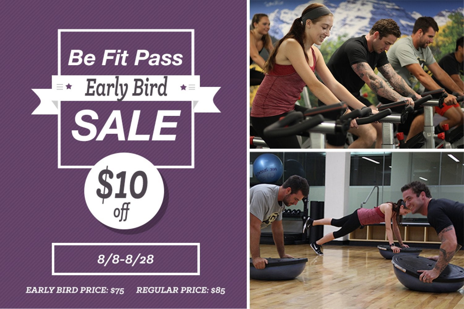 be fit pass sale