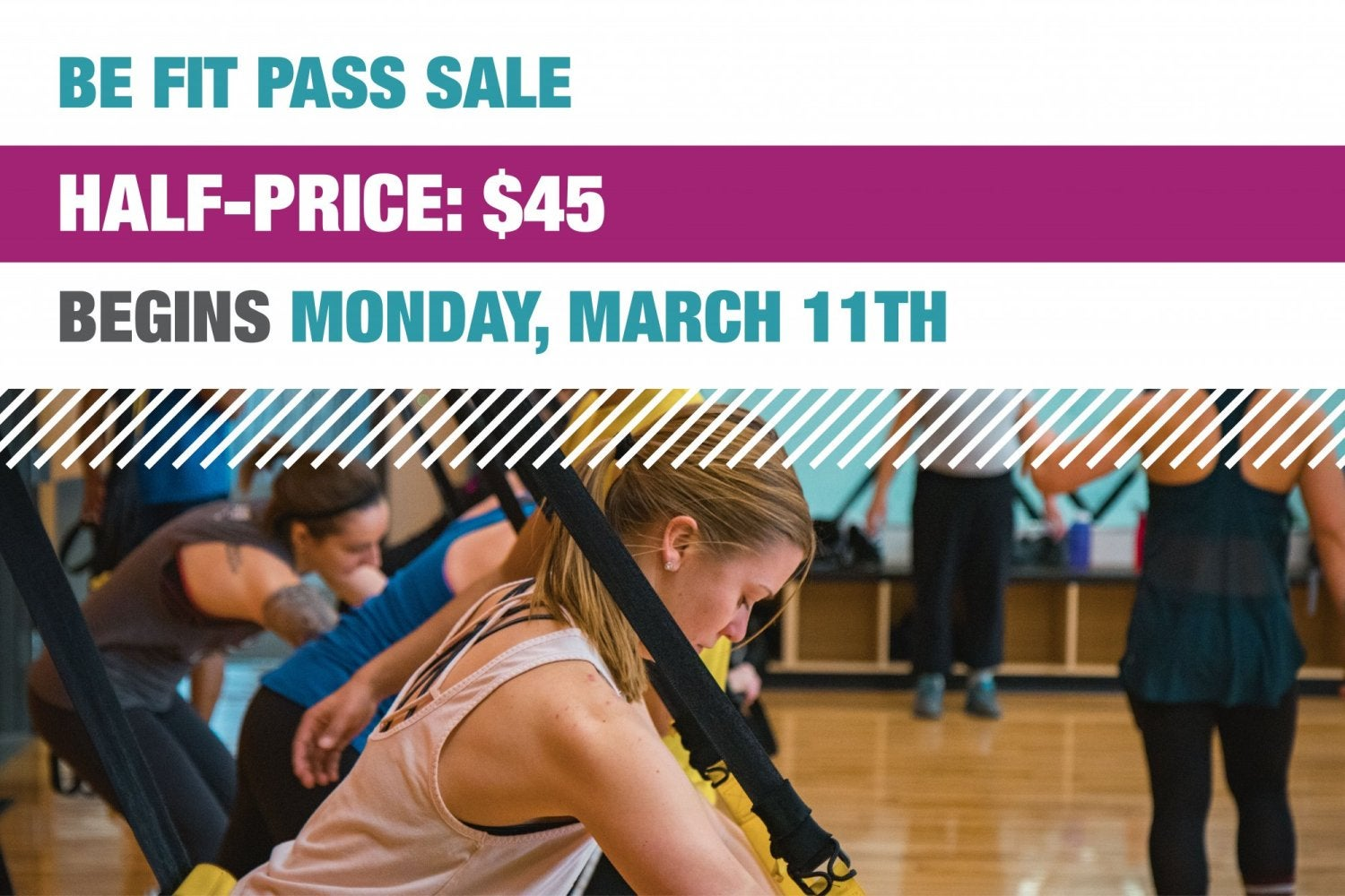 Be fit pass on sale