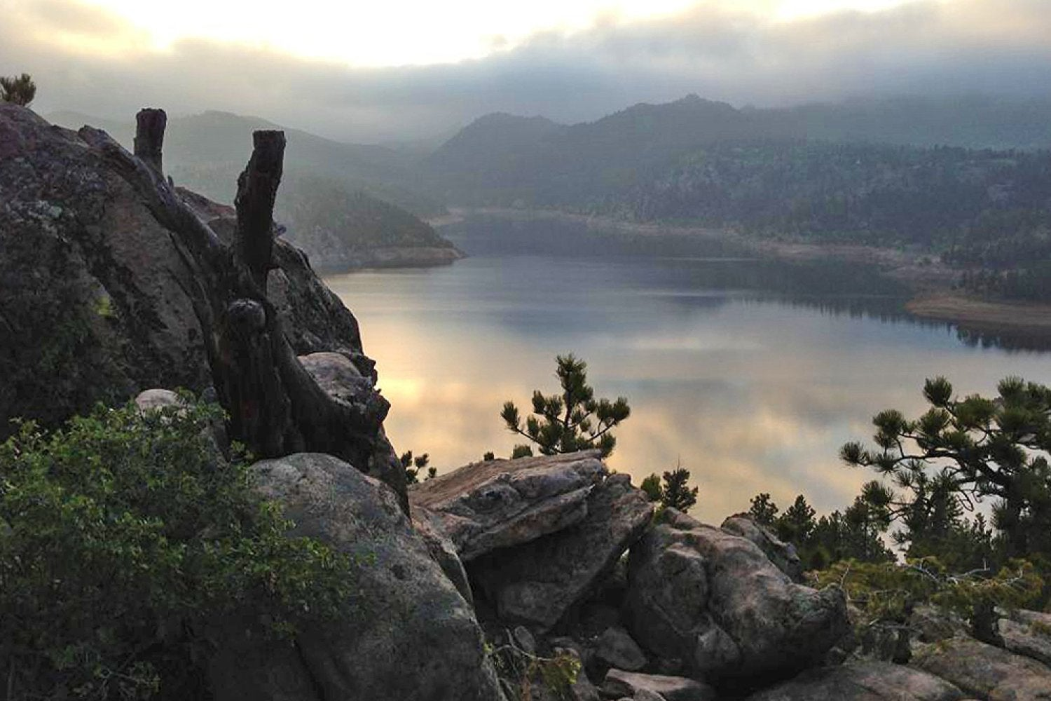 Find your adventure recreation services university of for Gross reservoir fishing