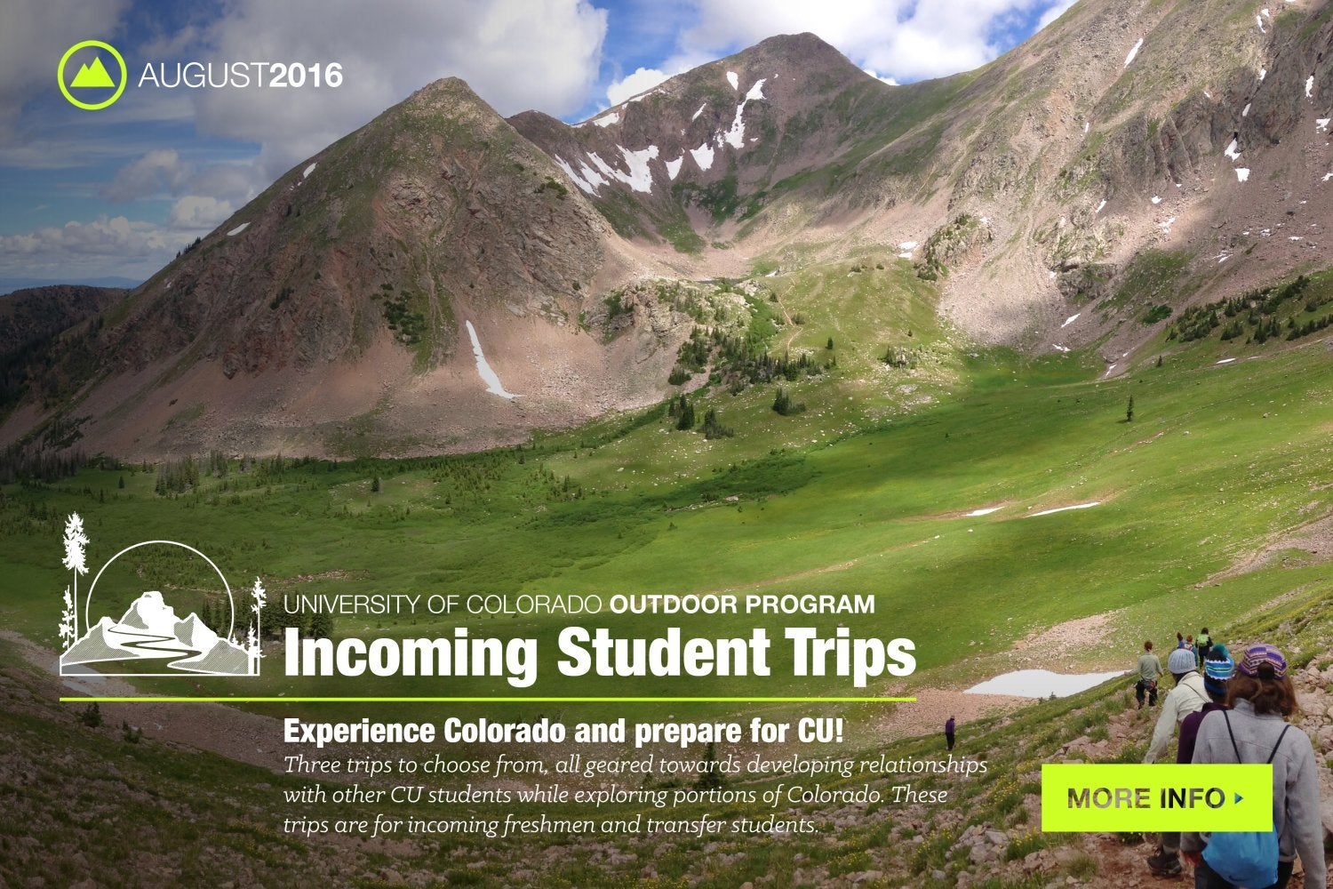 Incoming student trips