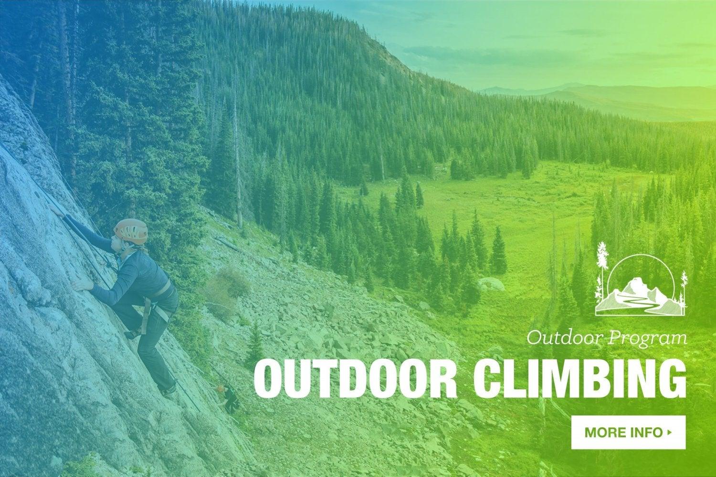 Intro to outdoor climbing