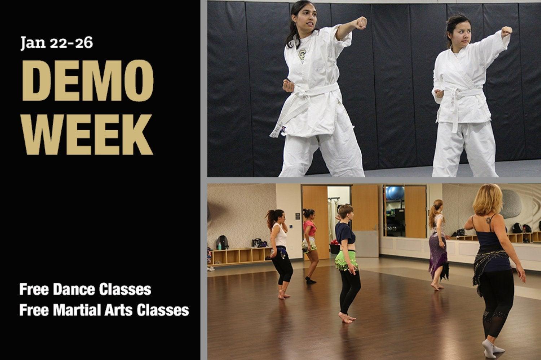 Demo Week: Free Martial arts & Dance Classes