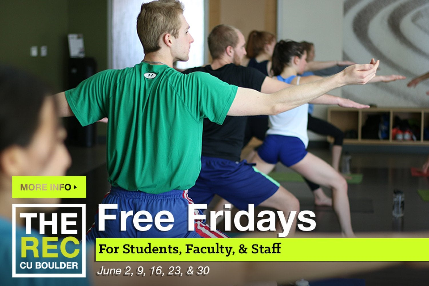 Free Fridays in June for students, faculty, and staff.  click here for more information