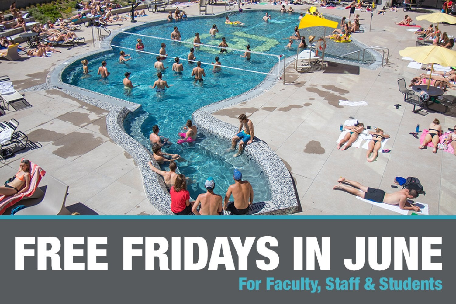 Free fridays in June for students, faculty, and staff.  click for more information