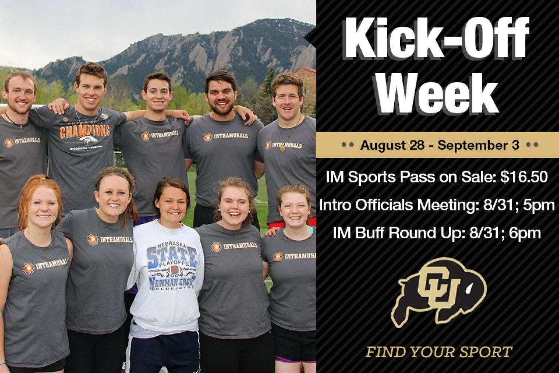 Intramural sports kick off week