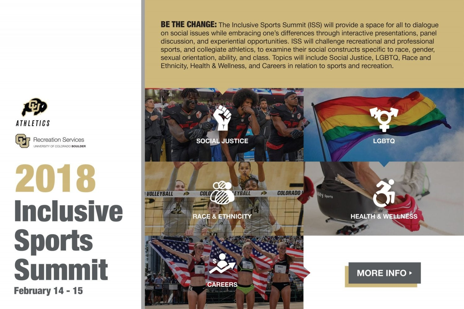 Inclusive Sports Summit.  Click here for more information