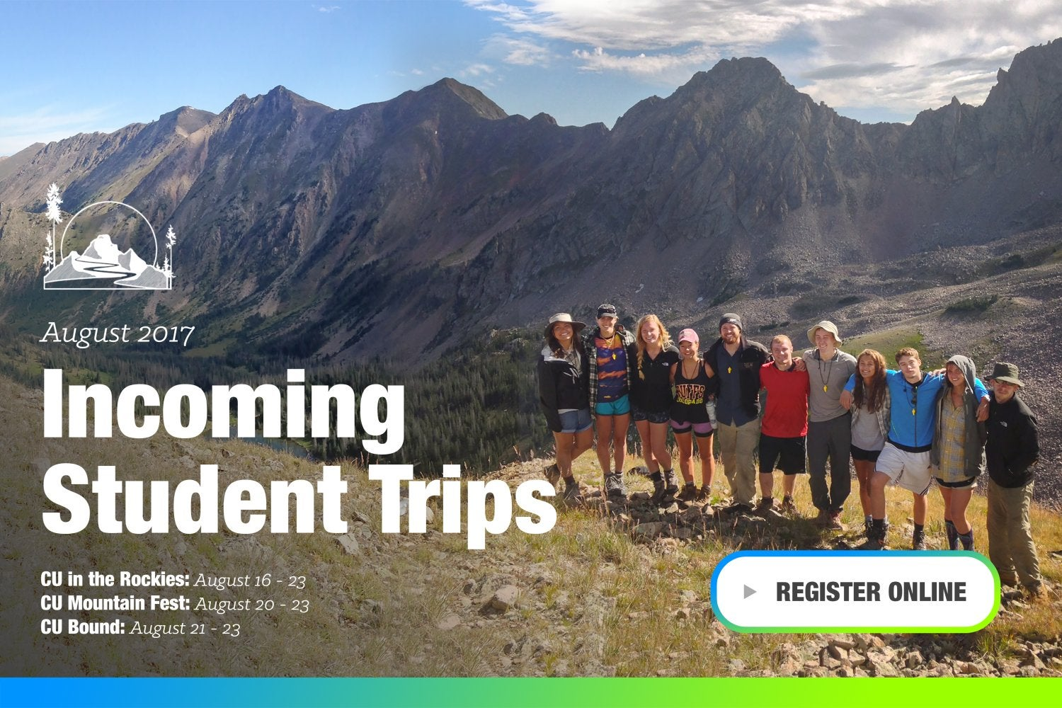 Incoming Student Trips. Click for more information